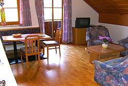 [Wohnung]Wohnbereich der Ferienwohnung 2