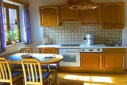 [Wohnung]Küche von der Ferienwohnung 1