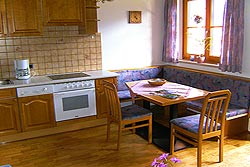 [Wohnung]Küche der Ferienwohnung 2